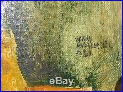 1931 Wachtel Wilhelm 1875-1942+ Importante Cotation! Rare Superbe A Voir+++