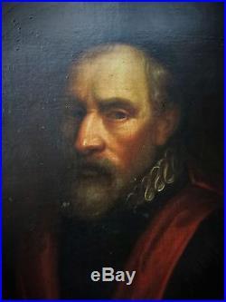 A expertiser PORTRAIT du XVIIè. ECOLE FLAMANDE. Homme de loi. Huile sur toile