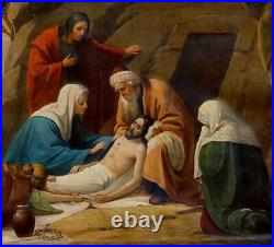 Adrien Bressers, 1860, Répertorié, Bien Coté! La Mise au Tombeau Néo-Gothique