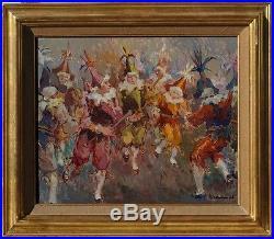 Albert Chavepeyer, 1955, Bénézit, Coté 1800! Les Chinels de Fosses! Magnifique