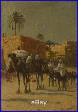 Alexis Delahogue peintre Orientaliste