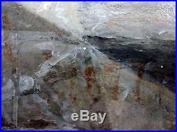 Ancien Tableau Locuste Et Néron Peinture Huile Antique Oil Painting