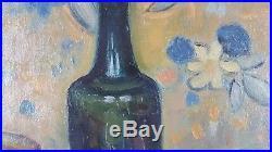 Ancien Tableau Nature Morte Peinture Huile Antique Oil Painting