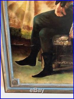 André Masséna Maréchal Empire Révolution Napoléon grande peinture 1m17cm par 81c