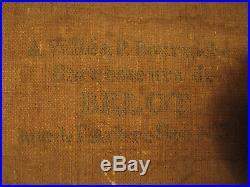 Auguste Fr LABY 1784-1860 Portrait d'homme Benezit Cote+++ Tableau Peinture