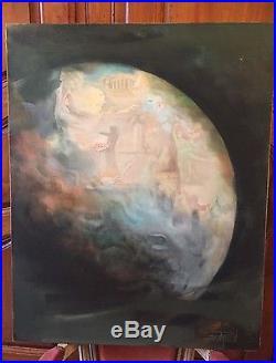 Authentique tableau signé Roger Suraud (1938) artiste Contemporain Répertorié