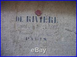 Bacchante endormie Magnifique Copie HST 1906 d'après Jean-Honoré FRAGONARD