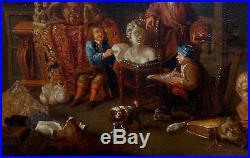 Balthasar Van Den Bossche, 1700, Coté 7000! L'Atelier du Peintre-Une Merveille
