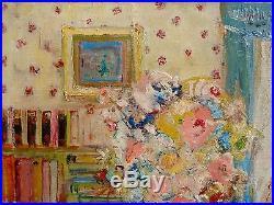 C. 1940+ Mig Quinet +interieur Au Bouquet+ Bénézit Excellente Cotation +a Voir