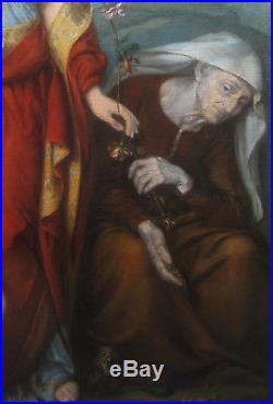 Carlo Zatti Tableau Les Trois Ages De La Vie Peintre Italien Renaissance Femme