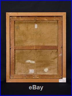 Contantin FONT (1890-1954) Huile sur toile postimpressionniste 1926 PORT DE NICE