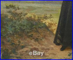 Courleux Portrait Curé Epoque Second Empire Huile sur toile XIXème siècle