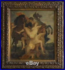 D`après P. P. Rubens HST signée Emile BERCHMANS (1867-1947) Liège