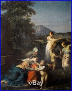 ECOLE FRANCAISE 18ème SCENE MYTHOLOGIQUE