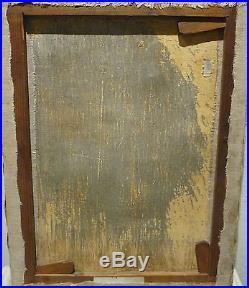 Extraordinaire Peinture De Cadaques Circa 1920 Avec Signature Dali