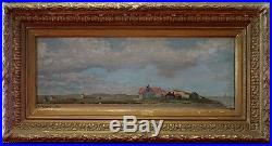 Edmond Van Der Haeghen (1), 1885, Bénézit, Grosse Cote! Blankenberge! Rare