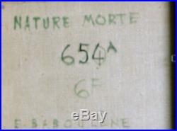 Eugène BABOULENE (1905-1994) Nature morte Huile sur toile. V776