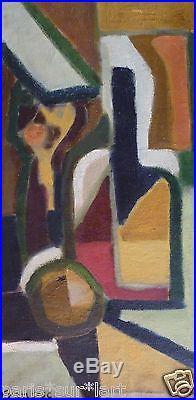 FRANCESC (XX) HsT de 1954 / Cubisme Cubism Abstaction Abstract / Català Catalàn