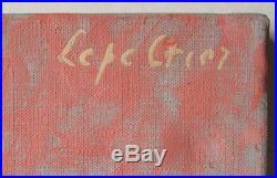Femme nue peinture de Robert LEPELTIER (1913-1996) vers 1960