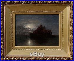 François Joseph Dupressoir, 1850, Bénézit, Coté 1800! Le Mont Saint Michel