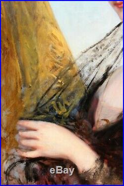 Franz Xaver Winterhalter, tableau, portrait, femme, Napoléon, Eugénie, Empire