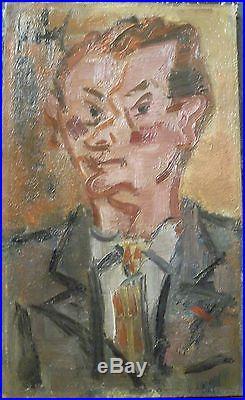 Gen Paul (1895-1975) huile/toile signée Autoportrait à la Légion d'honneur