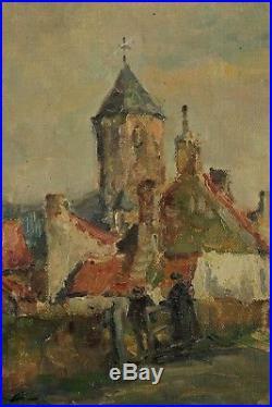 Georges Lemmers, Vieux Knocke, Circa 1900, Impressionnisme, Cotes jusque 51.000