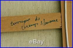 Gouvrant Gérard Tableau Original Champs-sur-Marne Seine et Marne