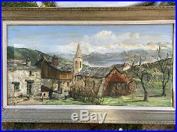 Grande huile sur toile de Louis VIGON, résultats Artprice jusqu'à 6100