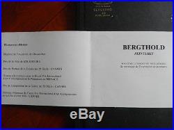 HUILE SUR TOILE GENIALE BERGTHOLD Frédéric, 1920-1989