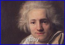 Henri Pierre DANLOUX (Attrib.) (1753-1809) Portrait of a Young Man