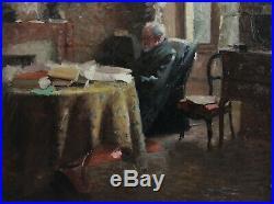 Henri de MARANDAT (-1914), intérieur intimiste