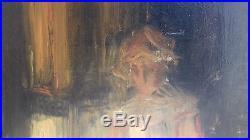 Huile sur toile benezit joseph bail painting expert cabinet turquin faire offre