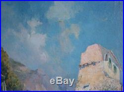 Huile sur toile de Raymond Allègre (1857-1933)