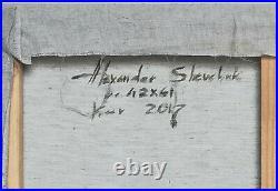 Huile /toile nu allongé- signé SHEVCHUK Alexander