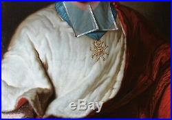 Hyacinthe RIGAUD, Portrait, Rohan-Soubise, tableau, peinture, Cardinal, homme