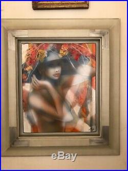 Jean-Baptiste VALADIE Lumière De Juillet. Huile Sur Toile. H48-L38 cm