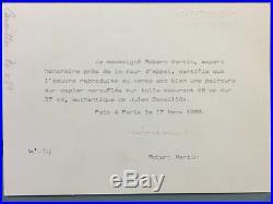 Jules CAVAILLES (1901-1977) Huile sur papier marouflée sur toile