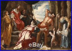 Le Jugement De Salomon. Peinture Du XVIIème. Suiveur De Rubens