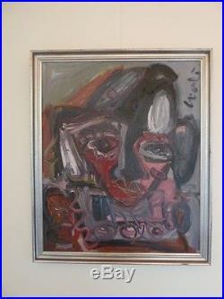Loulé Thierry, huile sur toile