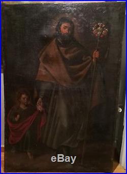 Magnifique Oeuvre D´autel Tres Proche A Le Jeune Diego Velazquez (1599-1660)