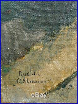 Marc BARDON (1891) Rue de l'abreuvoir PARIS MONTMARTRE RARE KVAPIL