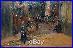 Marcel DELAUNAY (1876-1959) Rouen /14 Juillet Ecole de Rouen IMPRESSIONNISME