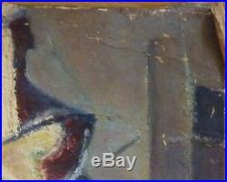 Marcel HORCLOIS (1914-2011) HsT Nature morte / Cubisme / Fauvism / Fauviste