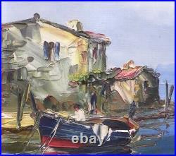 Marine de SALOMON LE TROPEZIEN Pêcheurs à Martigues mise à prix 1 euro