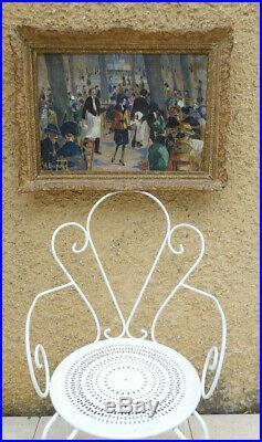 Marseille 1900. Grand Impressionniste. La Grande Brasserie Du Chapitre. Signé