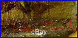 Nature Morte 19ème Fleurs et Fruits cadre doré
