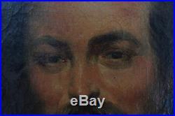 PEINTURE du XIXème siècle PORTRAIT D'HOMME circa 1850