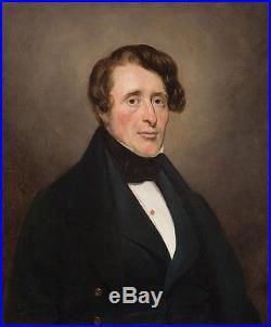 Portrait Présumé De Frédéric Chopin Toile Autour De Delacroix / Scheffer