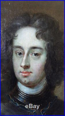PORTRAITd' HOMME NOBLE EPOQUE XVIII ème, 18ème siècle Huile sur toile